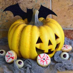 Gruslige Augen Kekse zu Halloween! | Kleine Prise